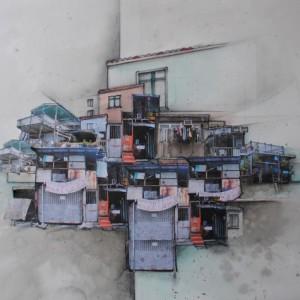 floating city 40x50